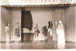 6th Grade play 'Aida'; left to right: Kathy Sharpe, Gil Owren, Ed Betts, Judy McFarland & Dick Bechtel (moved)  SEE ME