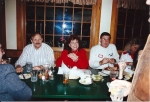Bill and Madeleine Toms Volk and Doug Frank and friend