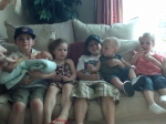 greatgrandchildren of becky fusco(june/08