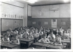 Third or maybe 2nd grade?:  First row on right:  Ned Lennon, Charlie Mixon, Kathy Braun, Ray Walker, Blair Brown.  Secon