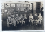 Kindergarten:  L to R:  Frank Barton*, Callie Dean, Edward Otocka, Kathy Braun*, Dick Connell, Larry Withnee*, Tommy Pri